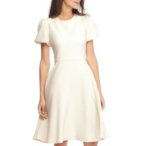 GAL MEETS GLAM COLLECTION Krista Puff Sleeve Dress